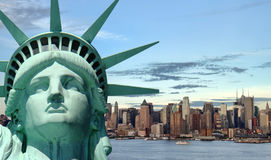 Beau concept de course de tourisme pour New York City Photos libres de droits