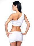Beau corps féminin Photo stock