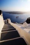 beau coucher du soleil d'horizontal images libres de droits