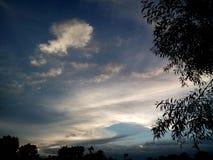 Beau crépuscule Image libre de droits