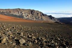 Beau cratère de Haleakala sur Maui Images libres de droits