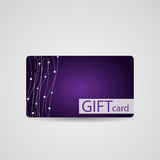 Beau Diamond Gift Card Design abstrait Photographie stock