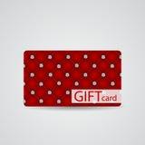 Beau Diamond Gift Card Design abstrait Photographie stock libre de droits