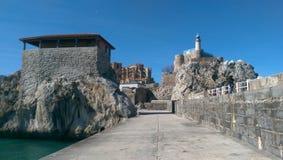 Beau du du nord de l'Espagne photos stock
