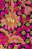 Beau du textile de batik Photo libre de droits