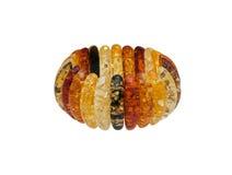 Beau et à la mode ambre de bracelet Photographie stock