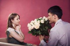 Beau et amour Photographie stock
