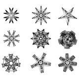 Beau et symétrique modèle géométrique Photo libre de droits