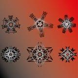 Beau et symétrique modèle géométrique Photos stock