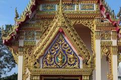 Beau et unique temple thaïlandais de Bouddha photographie stock