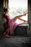 Beau femme Photo libre de droits