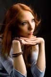 Beau femme. Photo stock