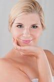 Beau femme avec une peau saine Photo libre de droits
