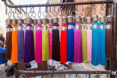 Beau fil coloré multi Photo stock