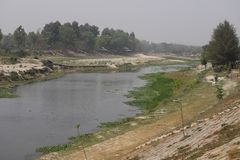 Beau fleuve image stock