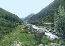 Beau fleuve image libre de droits