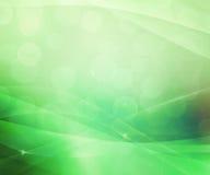 Beau fond abstrait vert Image stock