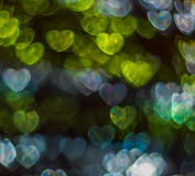 Beau fond avec le coeur coloré différent, CCB abstrait Image libre de droits