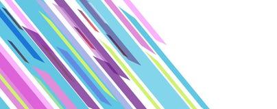 Beau fond avec les lignes abstraites illustration stock