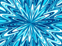 Beau fond bleu fantastique créatif Photographie stock libre de droits