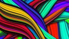 Beau fond coloré Images libres de droits