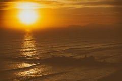 Beau fond de coucher du soleil Images stock