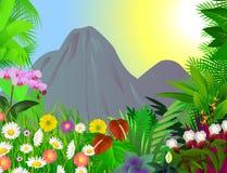 Beau fond de fleur Photos libres de droits