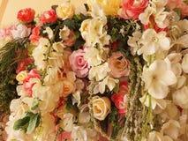 Beau fond de fleurs Photo libre de droits