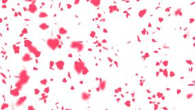 Beau fond de jour du ` s de Valentine banque de vidéos