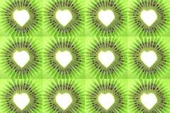 Beau fond de kiwi Photo stock