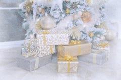 Beau fond de Noël Photo libre de droits