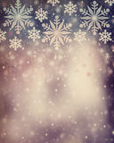Beau fond de Noël de vintage Photo stock