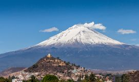 Beau fond de Puebla images libres de droits