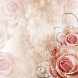 Beau fond de roses (1 de l'ensemble) illustration de vecteur