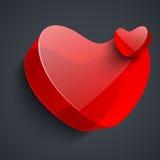 Beau fond de Saint-Valentin de St, cadeau ou carte de voeux Photos libres de droits