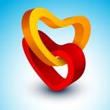 Beau fond de Saint-Valentin de St, cadeau ou carte de voeux Image libre de droits