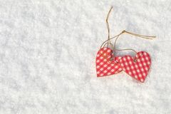 Beau fond de vacances de valentine avec l'habit bariolé deux à carreaux Images libres de droits