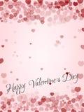 Beau fond de valentine Photos libres de droits