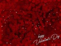 Beau fond de valentine Images stock