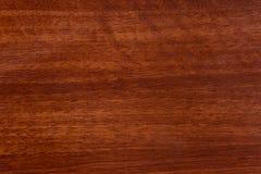 Beau fond en bois brun sur le contreplaqué texturisé laqué images stock