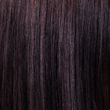Beau fond et texture de cheveux noirs d'éclat Photos libres de droits