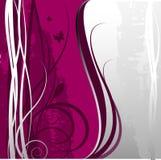 Beau fond fleuri Image stock