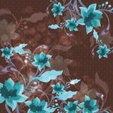 Beau fond floral Photos libres de droits