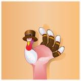 Beau fond heureux de jour de thanksgiving Image libre de droits