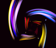 Beau fond iridescent Photos stock