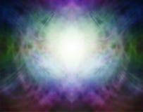 Beau fond spirituel de formation d'énergie de Pranic Image stock