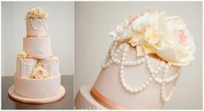 Beau gâteau Photo stock