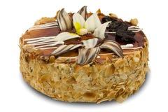 Beau gâteau de chocolat Photographie stock