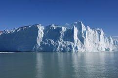 Beau glacier de Perito Moreno en Argentine Photographie stock