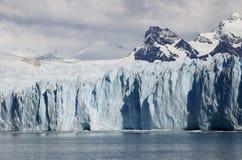 Beau glacier de Perito Moreno en Argentine Photos stock
